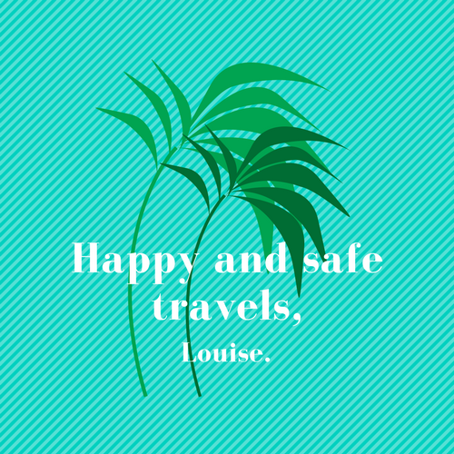 Happy and safe travels,